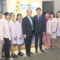 Dr Lim Hwee Yong and Dr Shang Yeap with their clinic staff